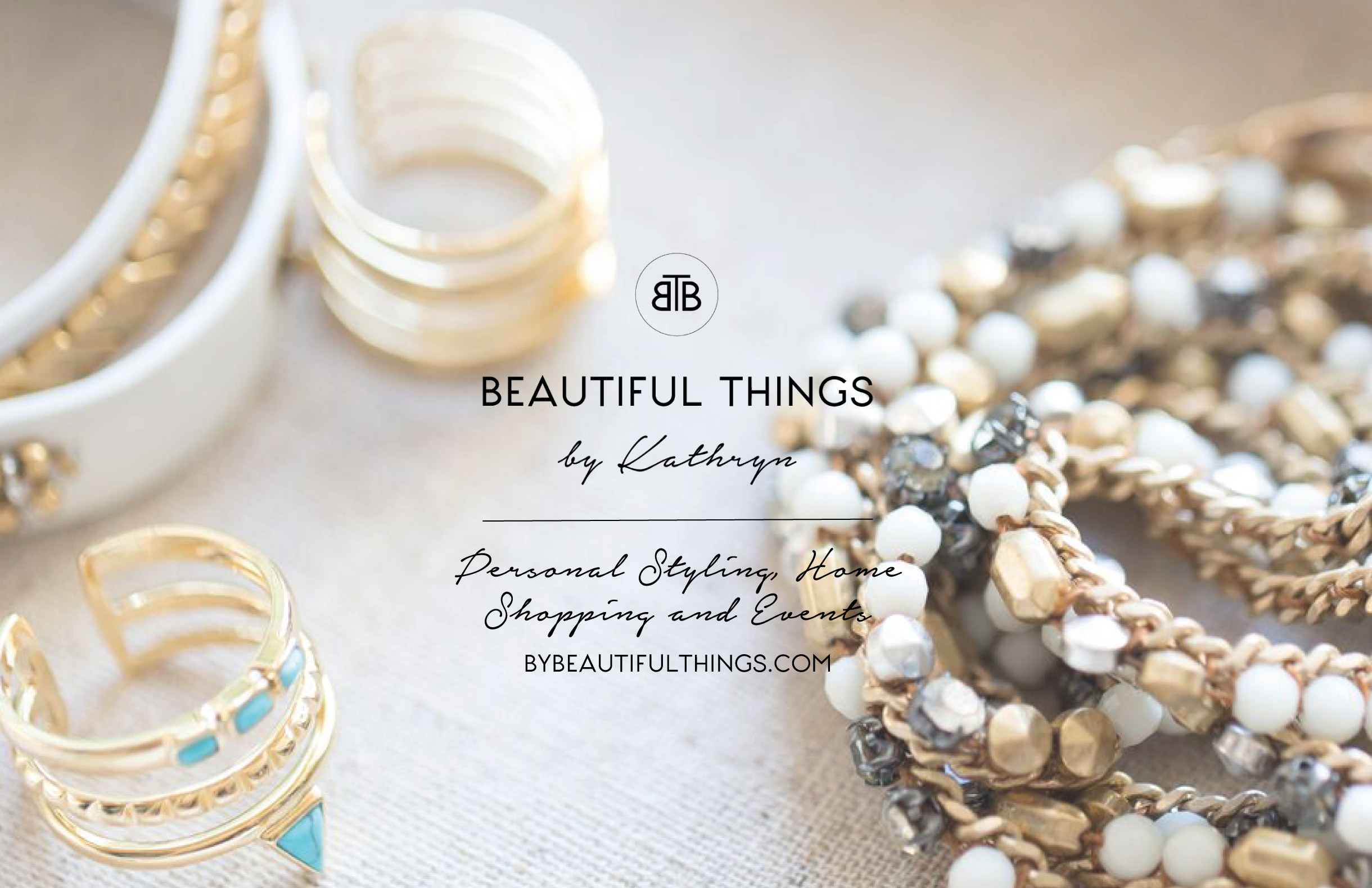 Quints Design co - Beautiful Things by Kathryn Business Branding