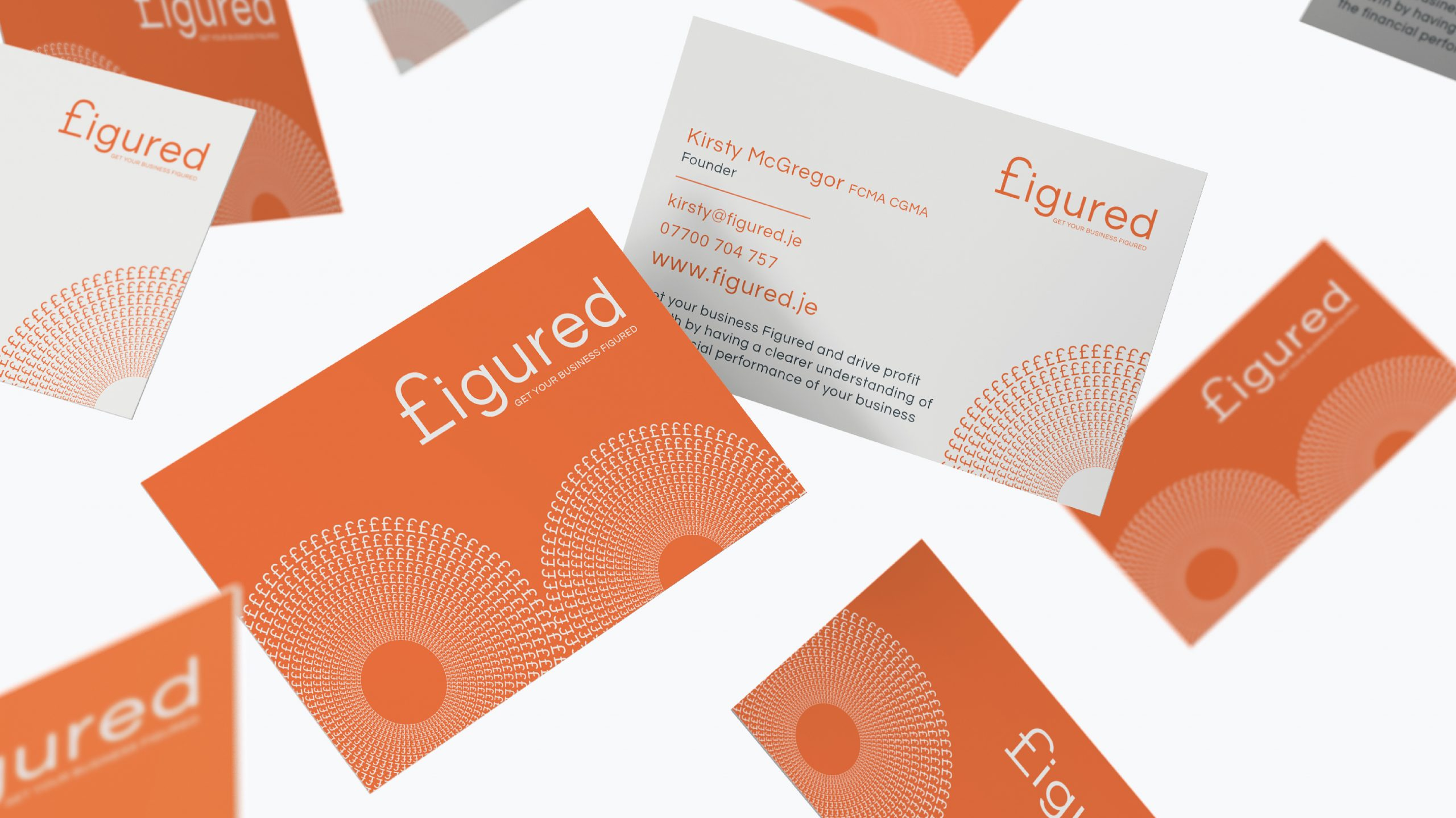Quints Design co - Figured - Branded Stationery - Business Cards