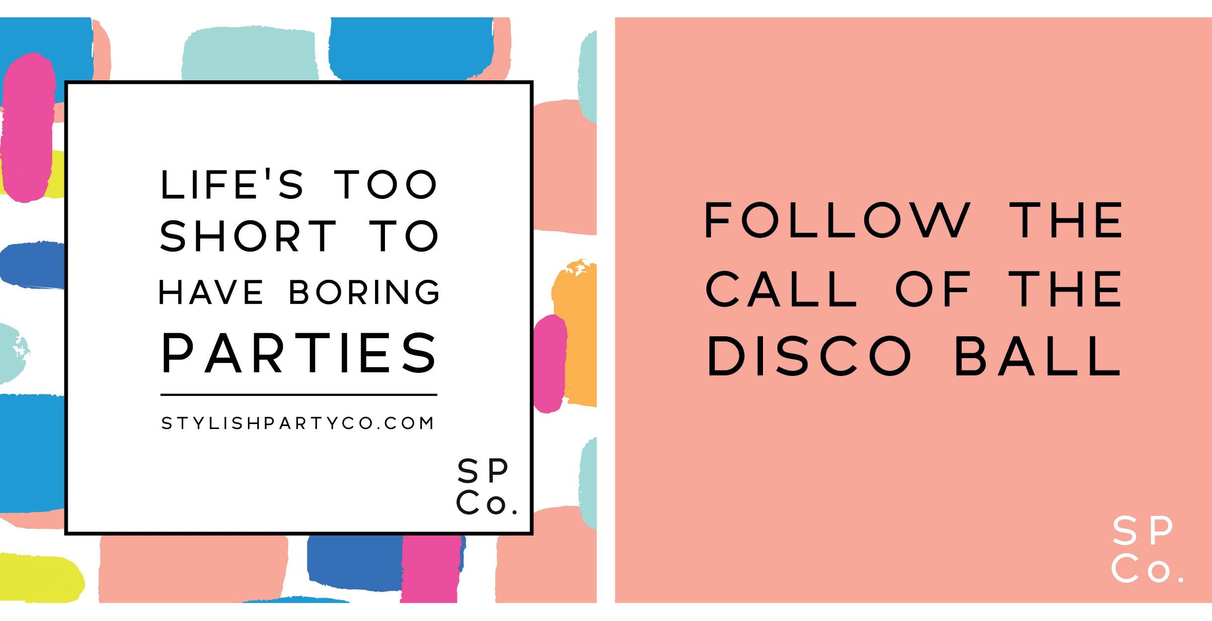 Quints Design co - Stylish Party co Branded Social Media Artworks
