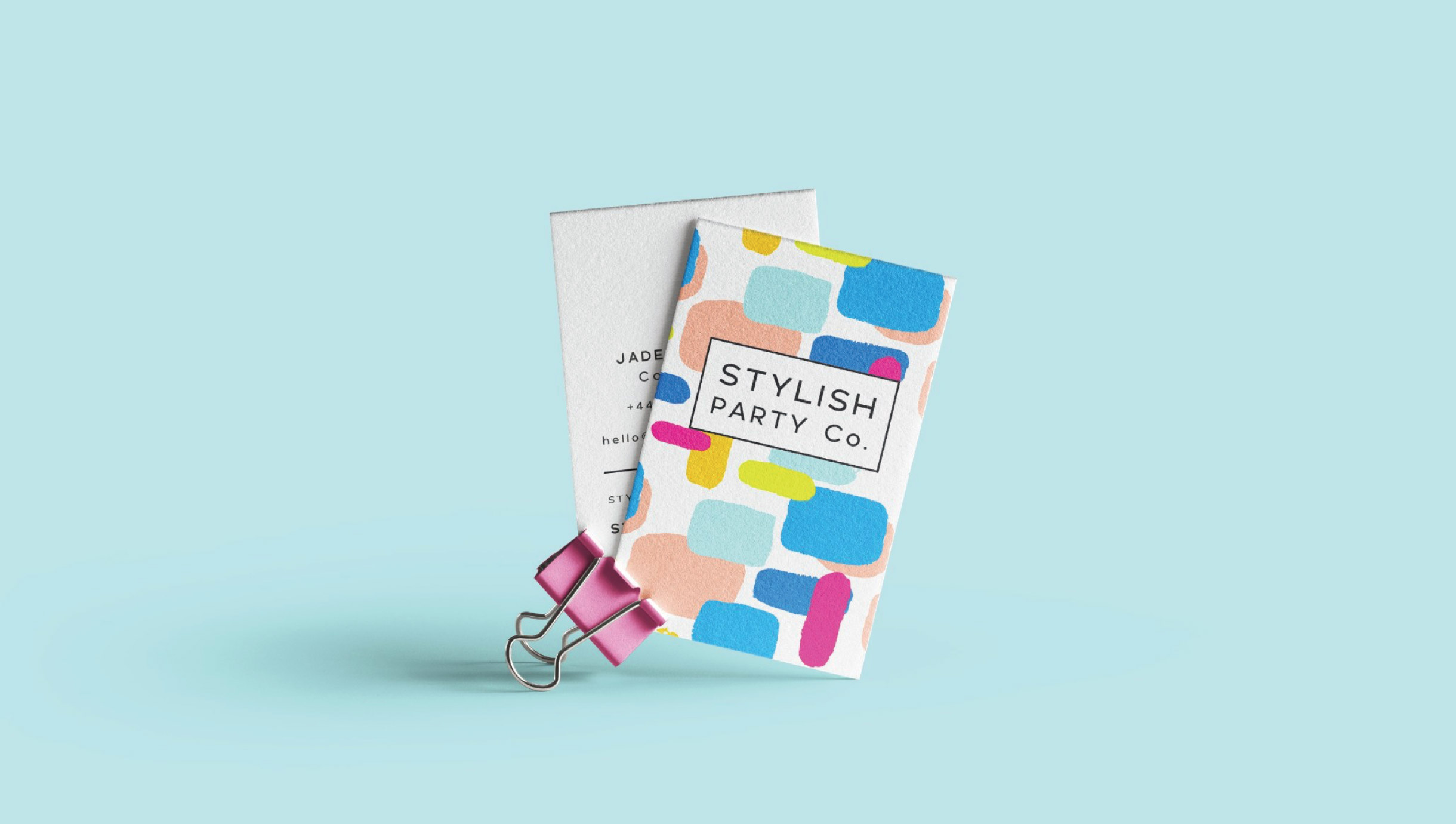 Quints Design co - Stylish Party co Branded Business Cards