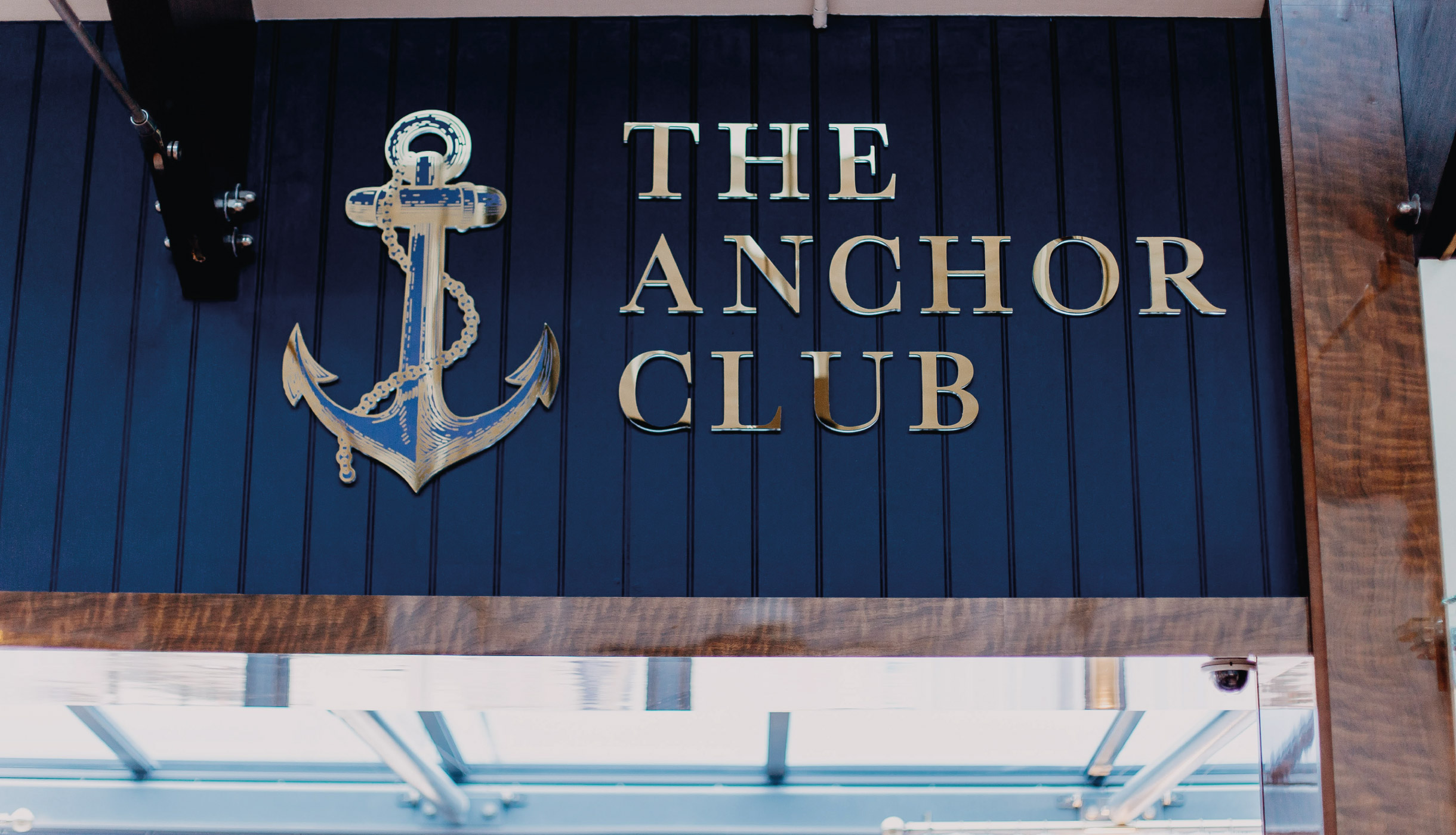 Quints Design co - The Anchor Club - Signage