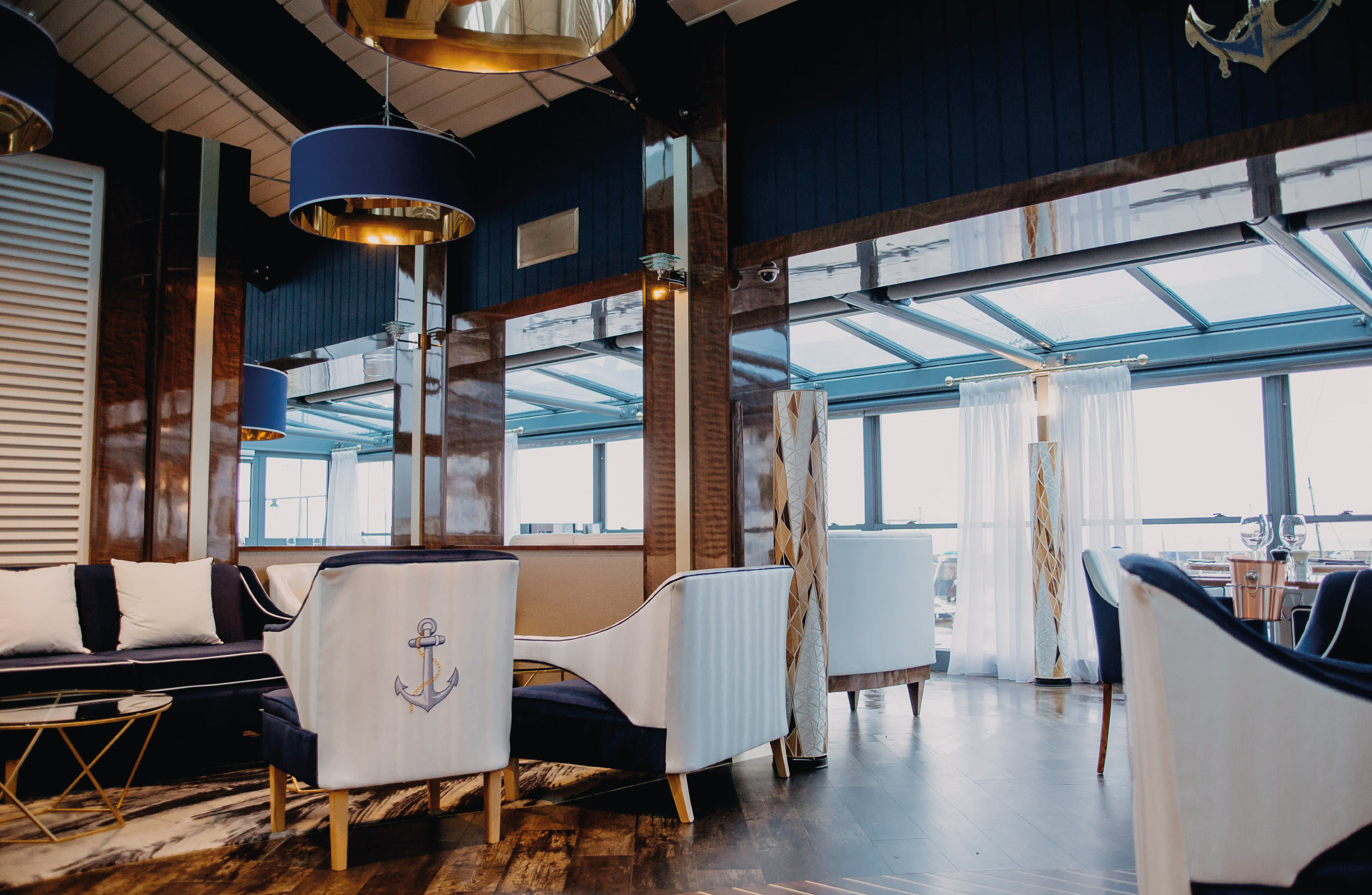 Quints Design co - The Anchor Club - Styling